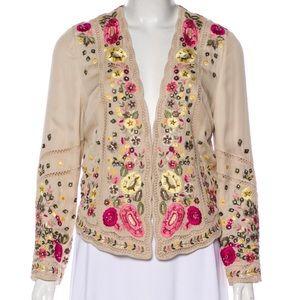 Haute Hippie Embroidered Jacket size medium.